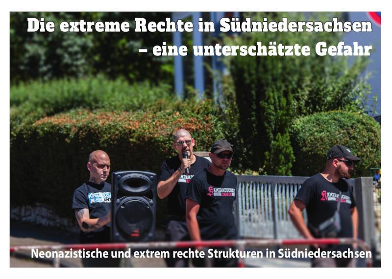"""Broschüre """"Die extreme Rechte in Südniedersachsen – eine unterschätze Gefahr"""" PDF download"""
